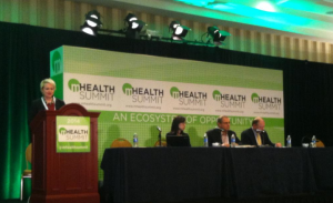 Left to Right: Susan Dentzer, Robert Wood Johnson Foundation; Caroline Pak, Pfizer Medical; Derek Yach, Vitality Institute; Joel White, Prescriptions for a Healthy America